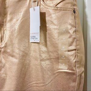 Lane Bryant Jeans - Rose Gold / Copper Jeans 18P
